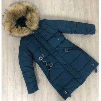 Зимова підліткова куртка для дівчинки