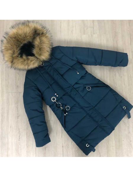 Зимняя подростковая куртка для девочки