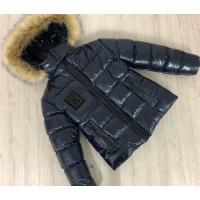 Зимова підліткова куртка на хлопчика