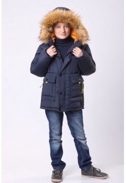 Детская зимняя куртка для мальчика