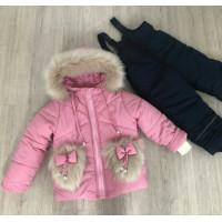 Детский зимний костюм на девочку 1 2 3 4 года