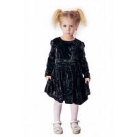 Дитяче оксамитове плаття