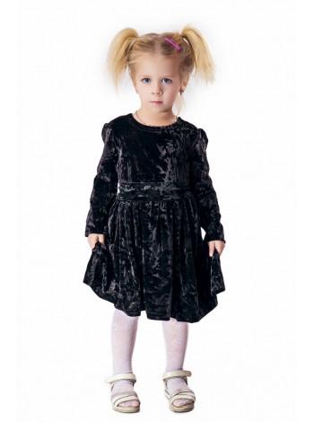 Детское бархатное платье