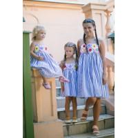 Літній сарафан для дівчинки
