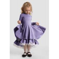 Нарядное детское платья с пышной юбкой