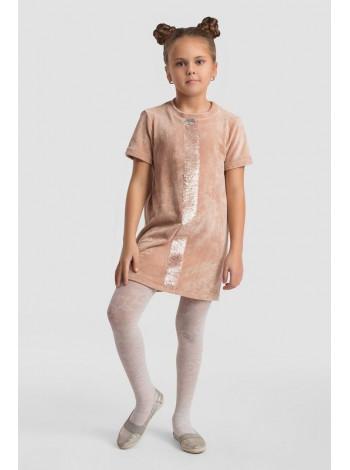 Красиве оксамитове плаття для дівчинки