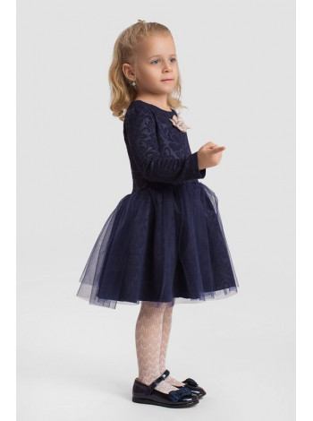 Вечернее детское платье с пышной юбкой