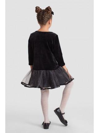 Детское бархатное платье для девочки для вечера