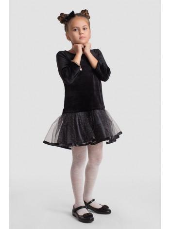 Дитяче бархатне плаття для дівчинки для вечора