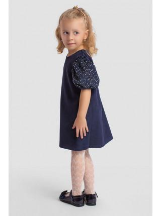 Нарядне дитяче плаття з рукавом ліхтарик
