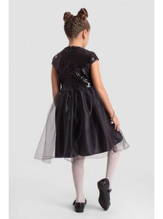 Вечернее детское платье с пышной юбкой для девочки