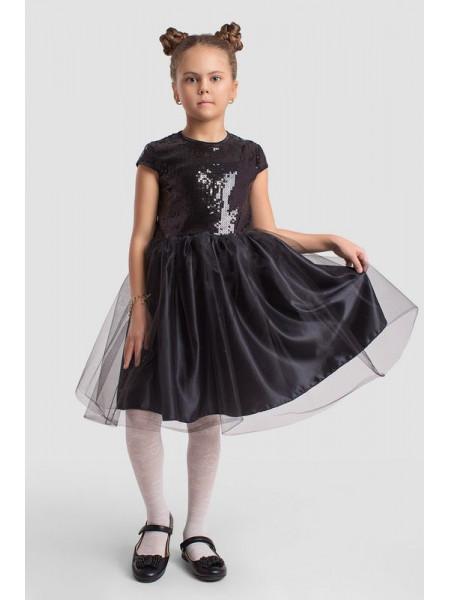 Вечірнє дитяче плаття з пишною спідницею для дівчинки