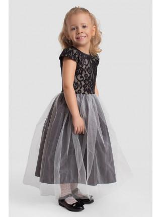 Вечірнє пишне плаття в підлогу для дівчинки