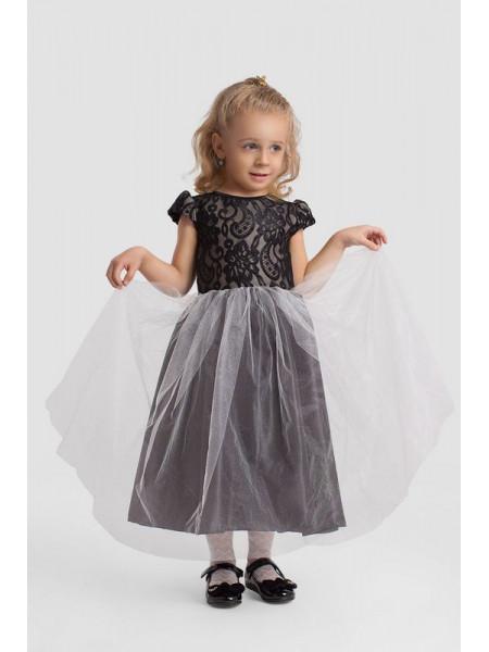 Вечернее пышное платье в пол для девочки