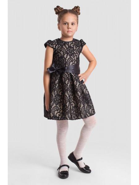Нарядное короткое пышное платье для девочки