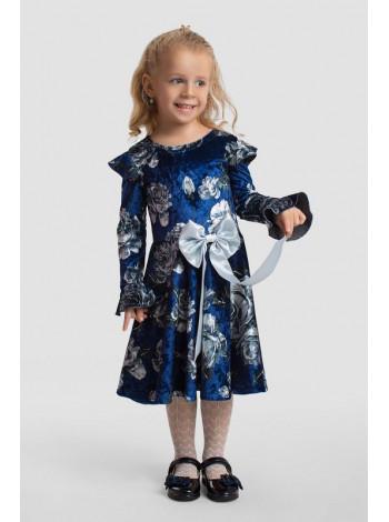 Вечірнє дитяче плаття з бантом