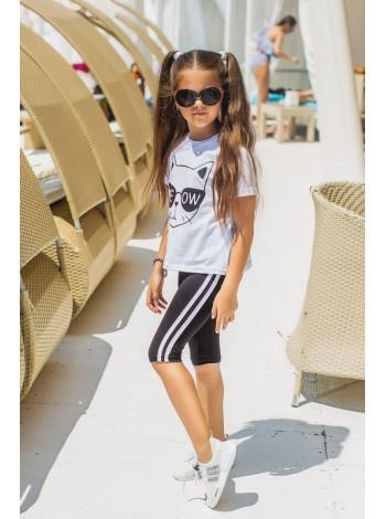 Дитячий спортивний костюм з бріджами