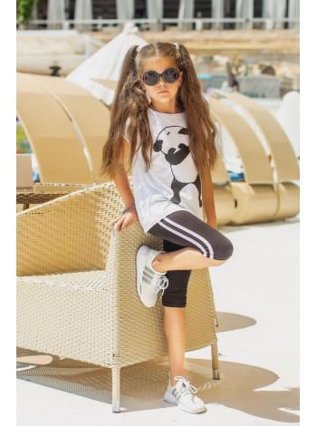 Літній спортивний костюм дитячий для дівчинки