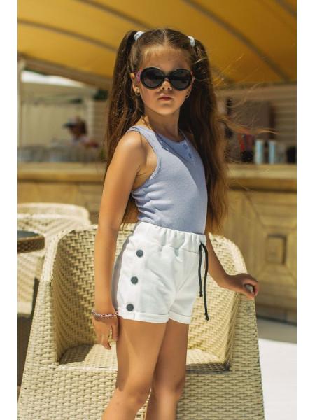 Детские трикотажные шорты на лето