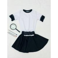 Шкільна юбка для дівчинки