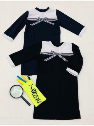 Трикотажне шкільне плаття
