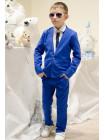 Шкільний лляний костюм для хлопчика