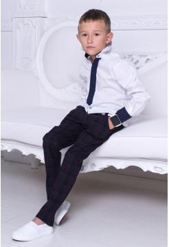 "Біла рубашка для хлопчика ""Краватка"""