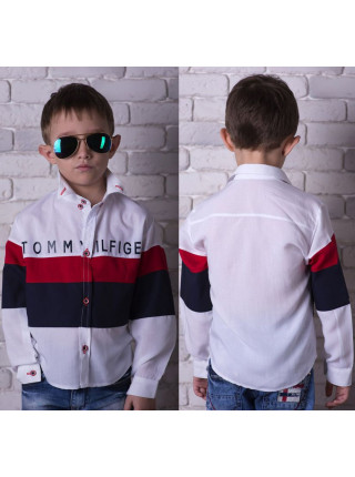 Детская модная рубашка для мальчика