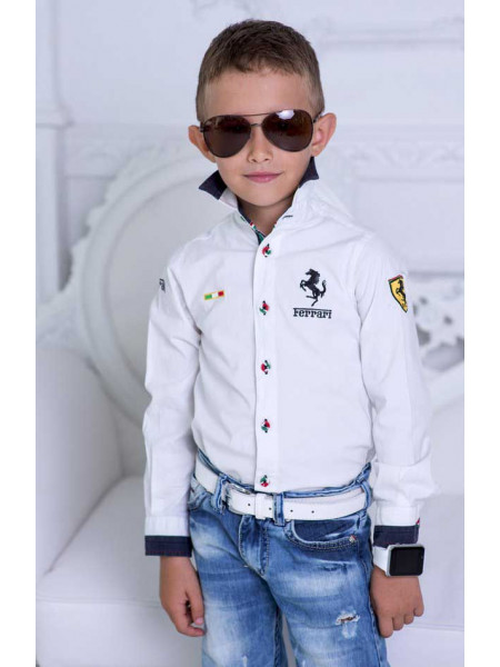 Красивая рубашка для мальчика