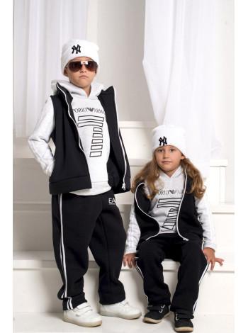 Теплий спортивний костюм трійка дитячий