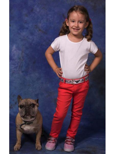 Модные джинсы на девочку