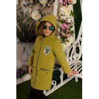 Красиве пальто дитяче для дівчинки