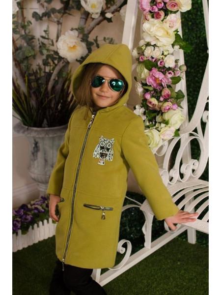 Красивое пальто детское для девочки
