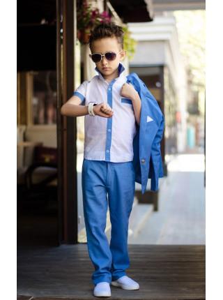 Літній костюм трійка на хлопчика