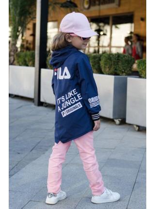 Вітровка дитяча для дівчинки