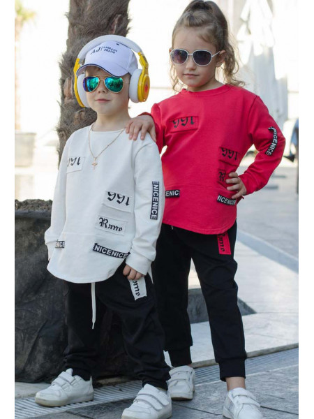 Трикотажний спортивний костюм для дітей