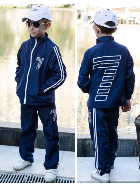 Спортивний костюм з плащової тканини для хлопчика