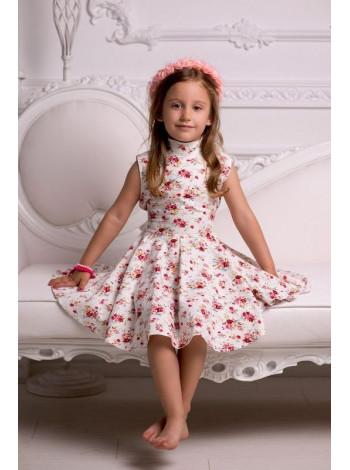 Дитяче плаття в квіточку