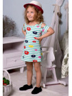 Літнє дитяче плаття морячка