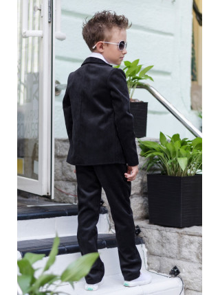 Вельветова шкільна форма для хлопчика