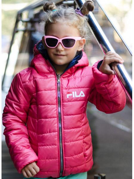 Демисезонная детская куртка для девочек