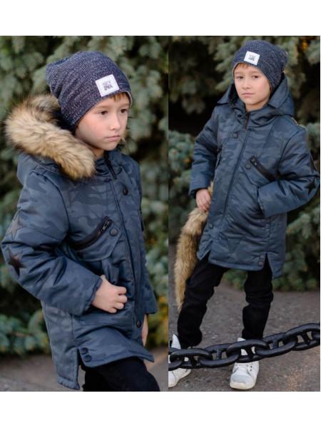 Дитяча зимова куртка на підлітка