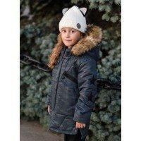 Дитяча зимова куртка для дівчинки підлітка