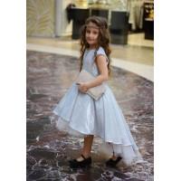 Блестящее бальное платье для девочки