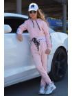 Трикотажный спортивный костюм для девочки