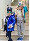 Трикотажный спортивный костюм тройка для мальчика