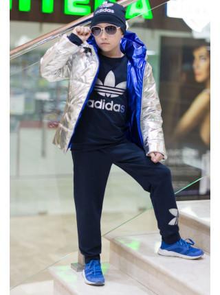 Трикотажний спортивний костюм трійка для хлопчика