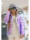 Підліткова куртка для дівчинки