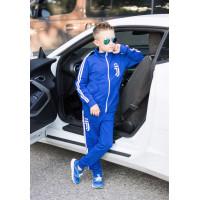 Трикотажний спортивний костюм з лампасами для хлопчика