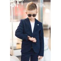 Вельветовий шкільний костюм для хлопчика